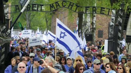 Tens of thousands of Israelis and Jews travel to Poland every year to visit Auschwitz, the holy grail of Jewish identification.