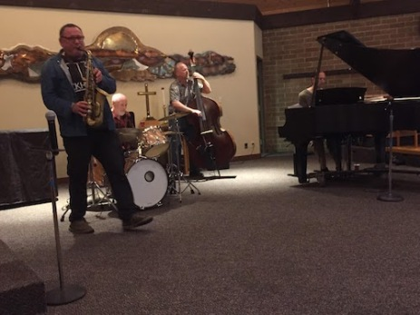 Gilad Atzmon at Southminster.  Peace, Love, Justice, and Jazz.